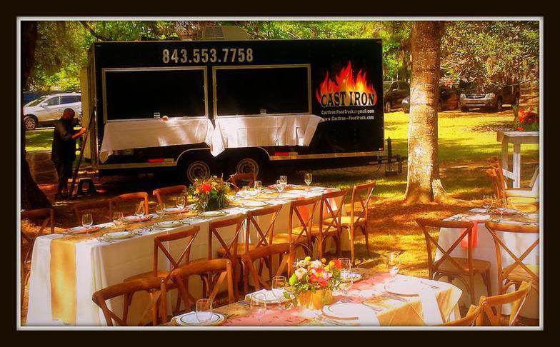 Cast Iron Food Truck Charleston Menu