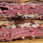 Reuben Cornell Club with Cole Slaw and Bacon